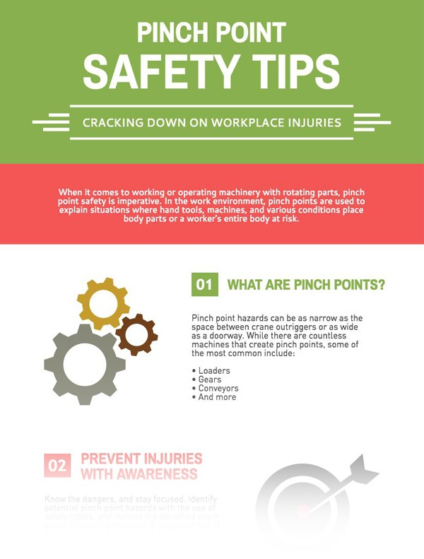 Pinch Point Safety Tips